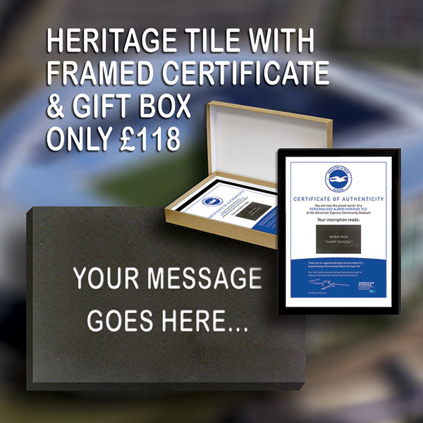 Heritage tile framed certificate and gift box albion heritage tiles heritage tile framed certificate and gift box negle Choice Image